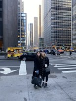 Sveta's first NYC pic in Midtown