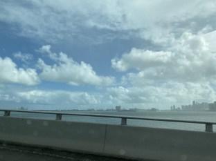 The drive back to Miami Beach