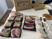 My Butcher Box delivery contents
