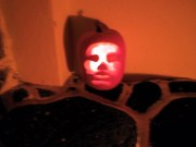 Evil Pumpkin 3 - the one I carved