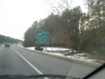 Entering North Carolina