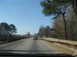 Heading through Augusta