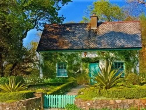 küçük ev, çiftlik evi
