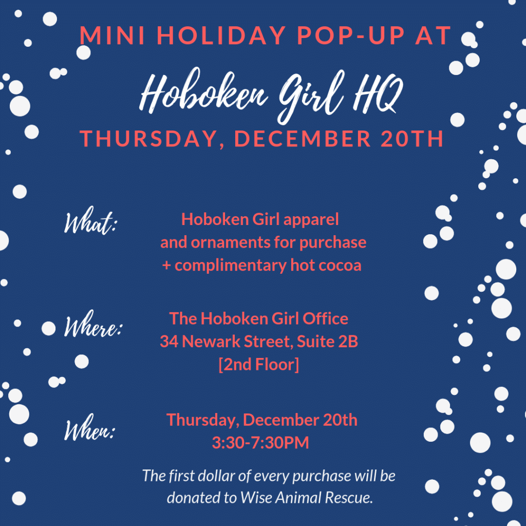 hoboken girl pop up holiday 2018