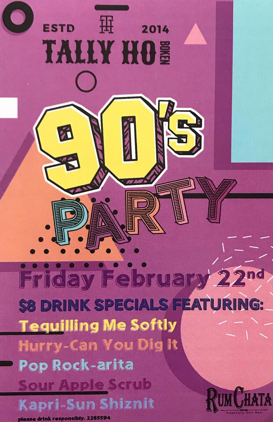 tally ho 90s party