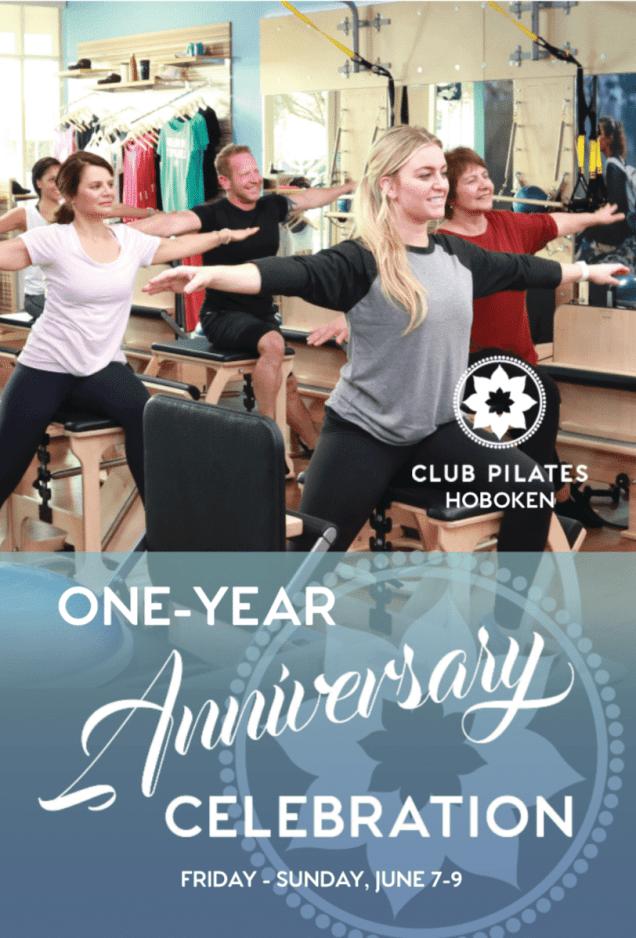 club pilates anniversary