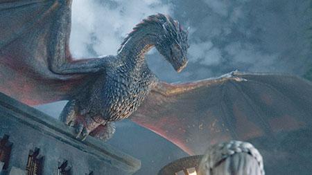 Drogon et Daenerys Game of Thrones Saison 5