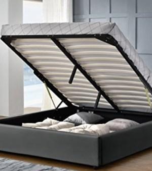la premire raison qui motive acheter un lit coffre sur internet est son tarif imbattable en magasin vous risquez gnralement de devoir vous acquitter - Lit Coffre Pas Cher