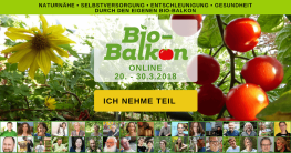 Online-Kongress von Bio-Balkon - Selbstversorgung und Grundlagen biologischen Balkon-Gärtnerns | Foto: Bio-Balkon*