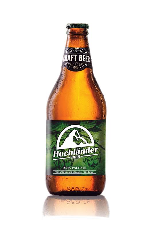 Botella Cerveza Hochländer IPA