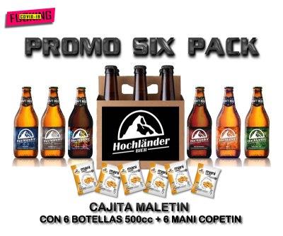 Six Pack Cerveza Hochländer