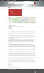 Kontakt, Impressum inkll. Google-Maps-Integration
