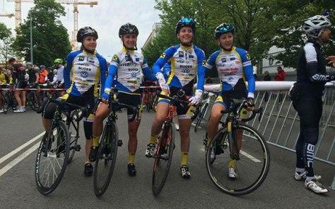 Vier Vitalogic Fahrerinnen am Start