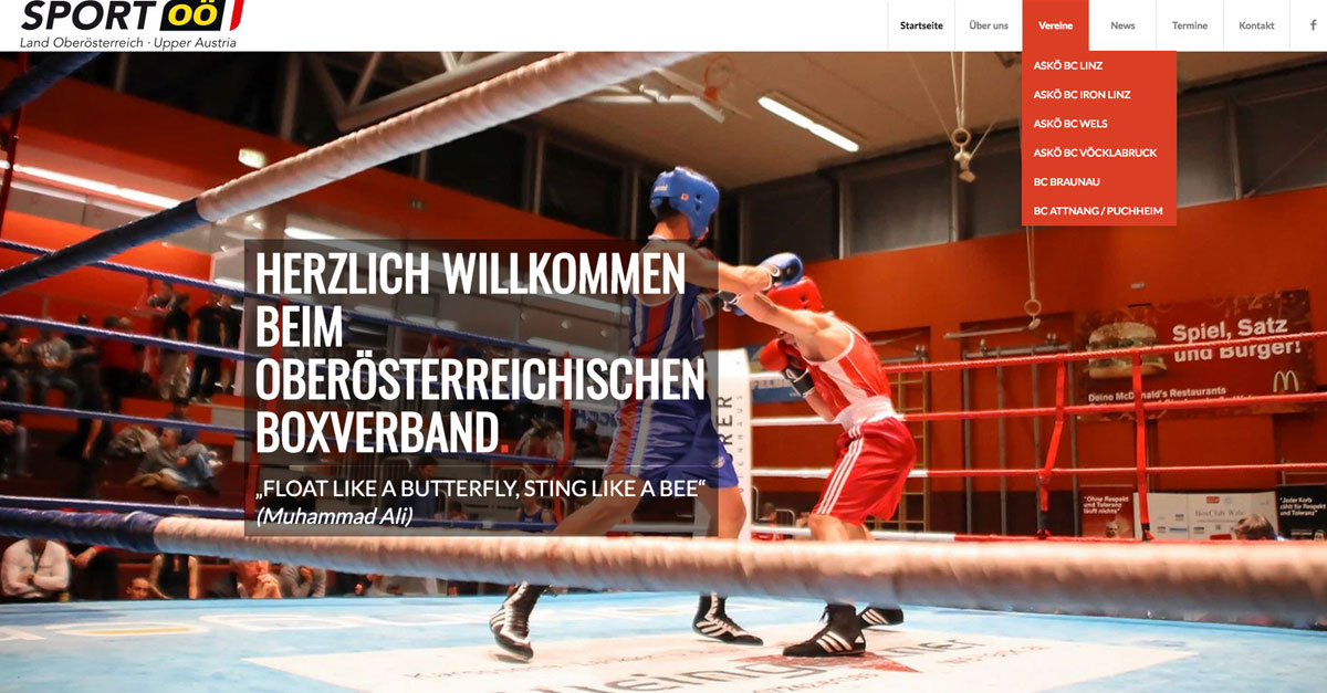 Frontpage ooe-boxverband.at