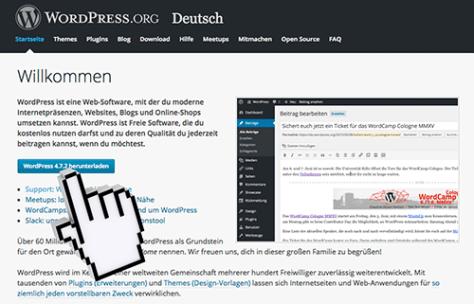 Wordpress manuell aktualisieren – aktuelle WordPress-Version