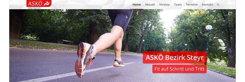 askoe-steyr.com Frontpage