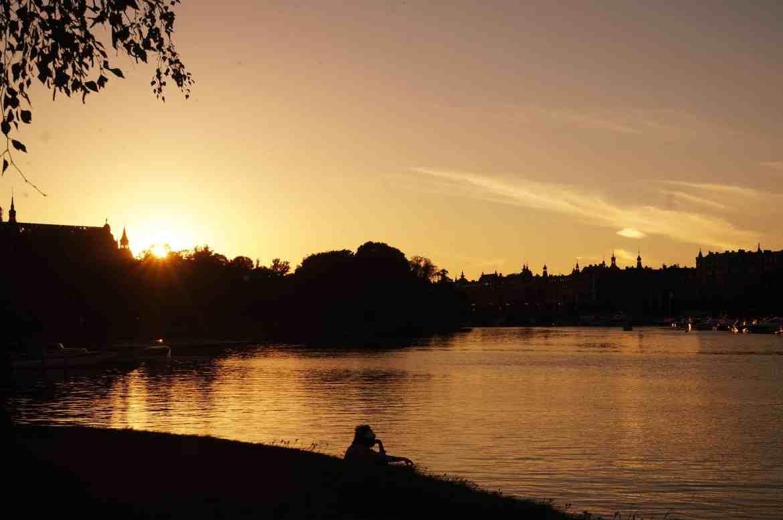 Stockholm, Aussicht Schweden, Sunset, Sonnenuntergang, Djurgården, Natur in Stockholm, Insel in Stockholm, Sweden