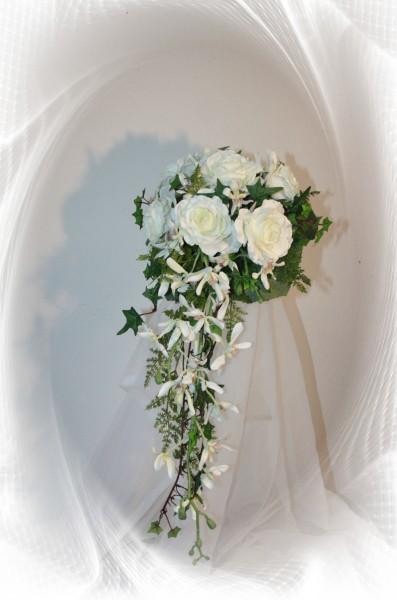Brautstrauss Orchideen Und Allium Hochzeitsdekorationen