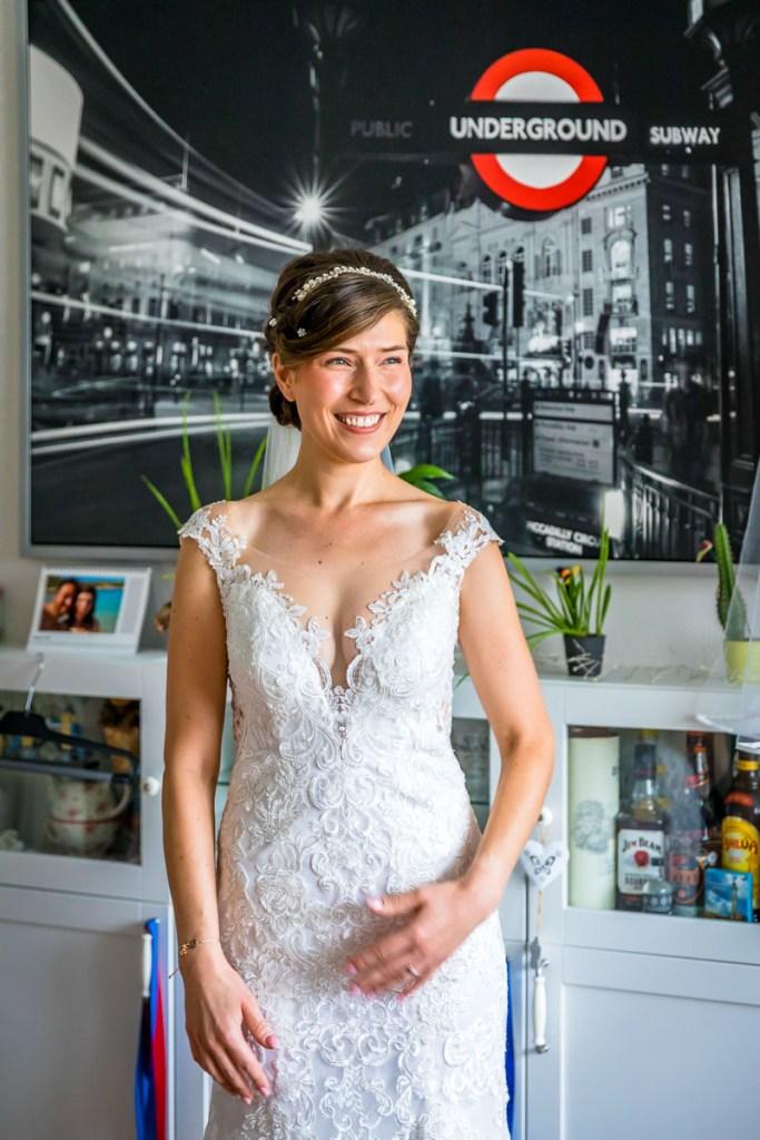 Hamburg Fotos Vorbereitung Braut