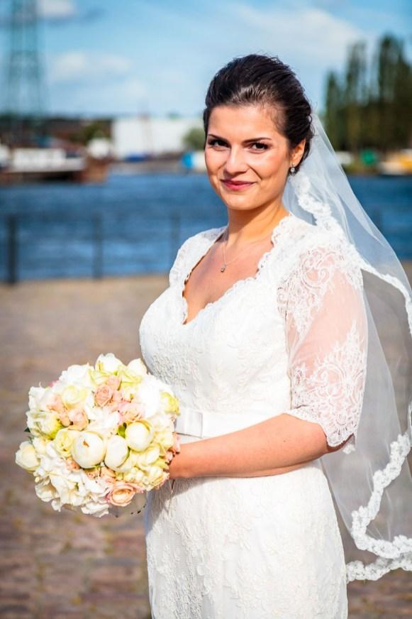 Hochzeitsfotos Hamburg Harburg Braut