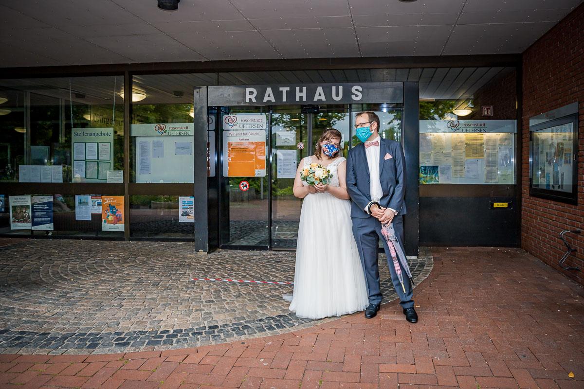 Hochzeitsfotograf Hamburg - Hochzeit in Uetersen