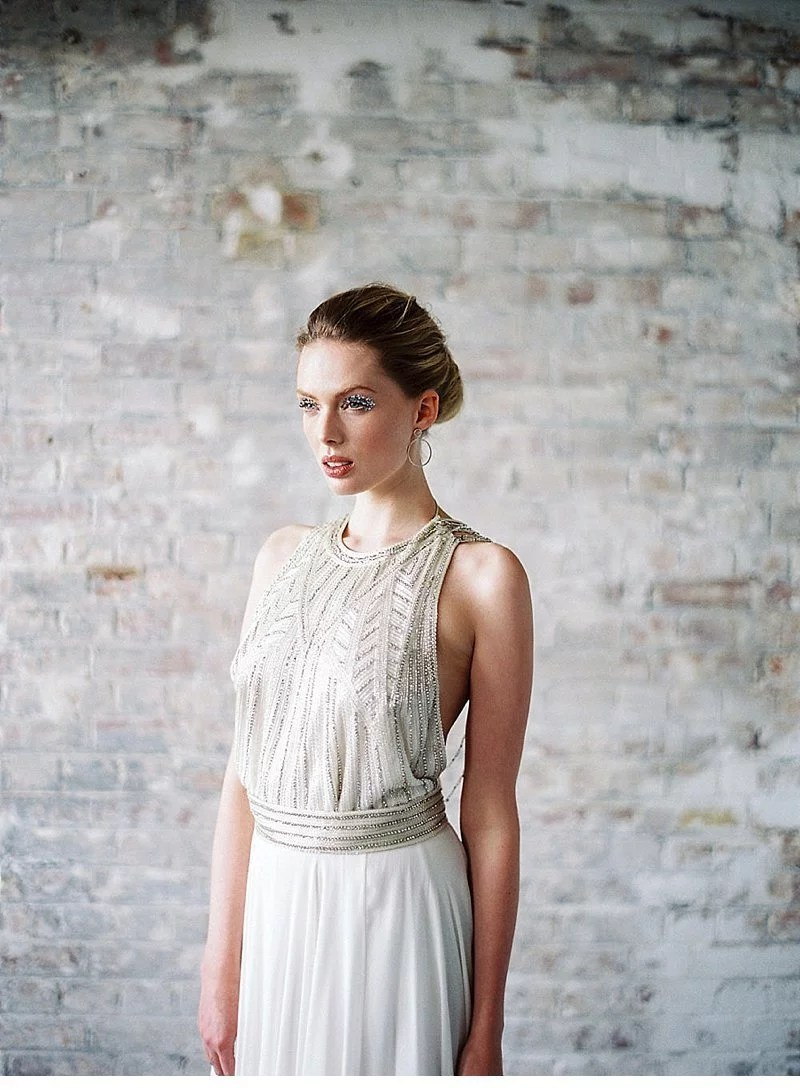Glitter Inspired Bridal Shoot By Lucy Davenport Photography