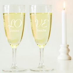 Gläser Mit Gravur Eine Tolle Geschenkidee Zur Hochzeit