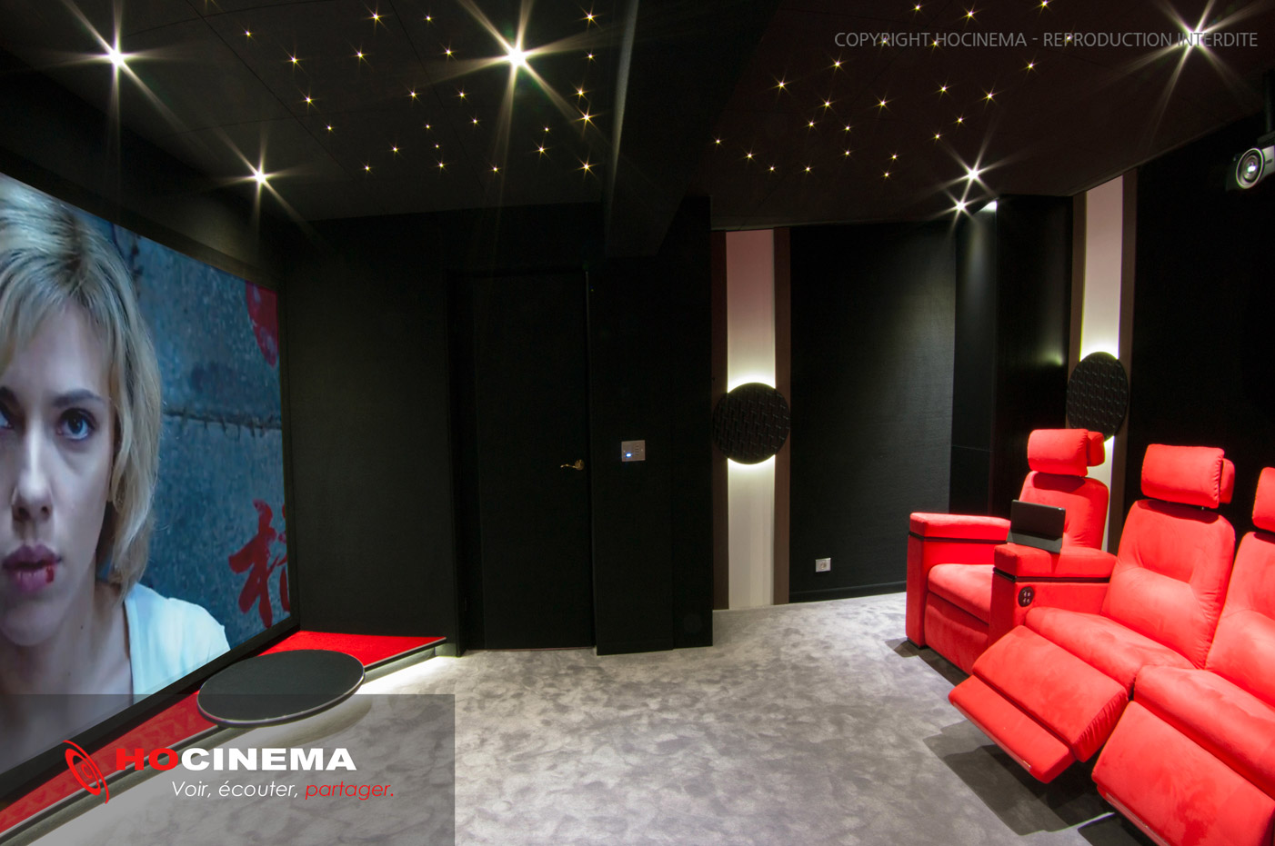 Deco Salle De Cinema Awesome Deco Salle Theme Cinema Deco