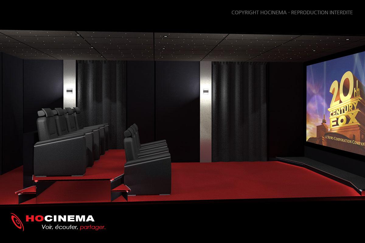 Deco Salle Cinema Stunning Projet Eca Dco Salle Cinma