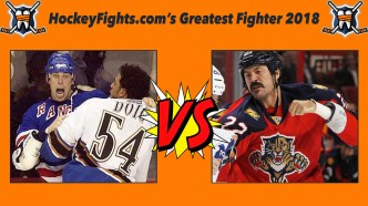 HockeyFights.com Fantasy Fighting Championship Bracket: Round One – Day Eight