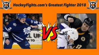 HockeyFights.com Fantasy Fighting Championship Bracket: Round Two – Day Two