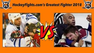 HockeyFights.com Fantasy Fighting Championship Bracket: Round One – Day Seven