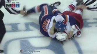Hockeyfights Friday Fight Recap – November 30, 2018