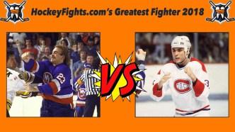 HockeyFights.com Fantasy Fighting Championship Bracket: Round One – Day Two