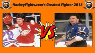 HockeyFights.com Fantasy Fighting Championship Bracket: Round One – Day Four