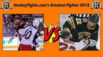 HockeyFights.com Fantasy Fighting Championship Bracket: Round One – Day Three