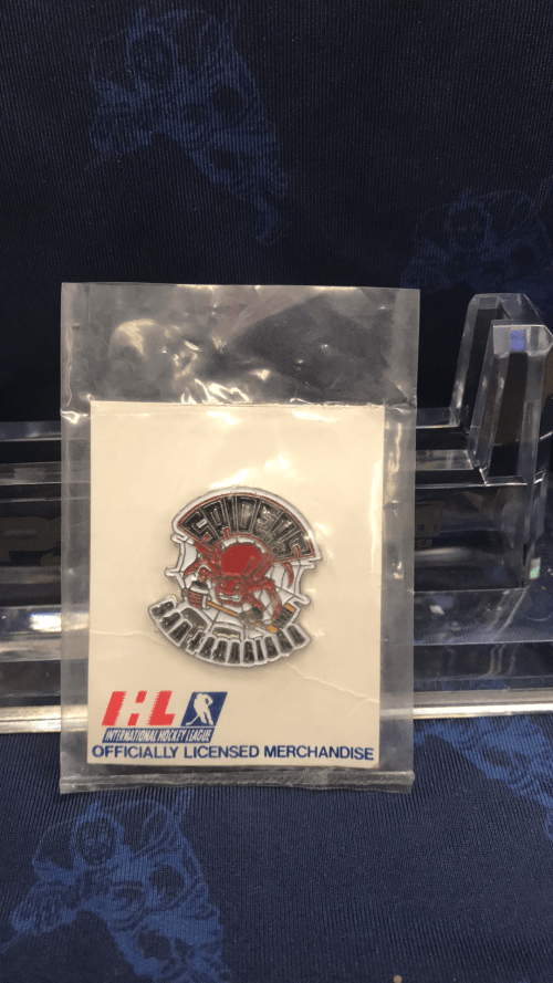 1995-1996 IHL San Francisco Spiders pin.