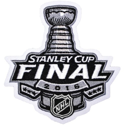 2016 NHL Stanley Cup Finals Patch. San Jose Sharks vs Pittsburgh Penguins.