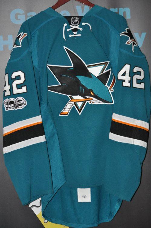 Coming soon! San Jose Sharks Joel Ward.