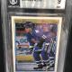 1990-91 OPC Premier #86 Owen Nolan Rookie Hockey Card. Beckett Grade 9 Mint. Card #0000961814