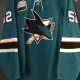 2018-19 San Jose Sharks #52 Lucas Radil with San Jose All-Star patch. 52-0 issued 9-17-18-1-16-19. Obtained from team. Looking trade only for older San Jose Sharks. Rare San Jose All-Star Patch. Size 58.
