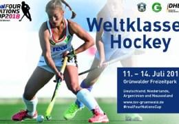 Four Nations Cup 2018  – Damen – GER vs. ARG – 11.07.2018 18:00 h