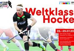 Four Nations Cup 2018  – Herren – GER vs. FRA – 26.07.2018 19:15 h