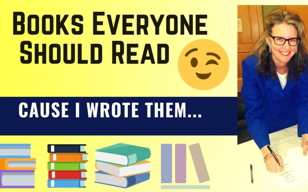 Video On Interesting Books To Read – Okay, They're Mine!