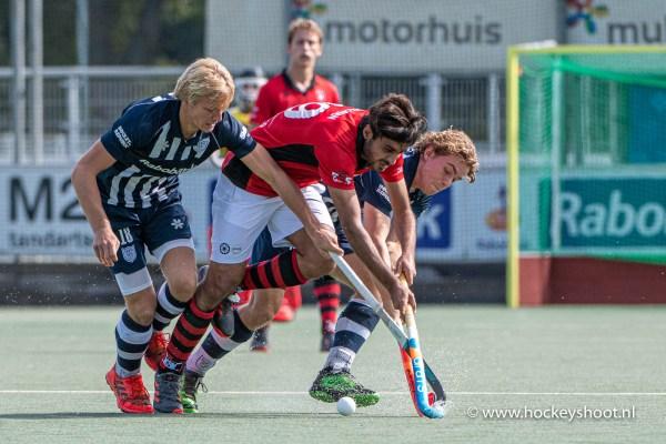 Hockey - Mannen HDM v Schaerweijde, Den Haag - 15-09-2019