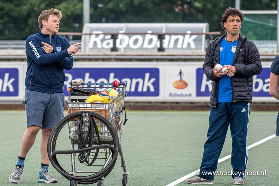 Trainers Ivar Knötschke en Lennard Poillot