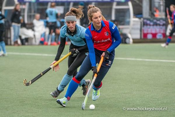 Sophie Schlatmann (HGC #11) en Xan de Waard (SCHC #11)