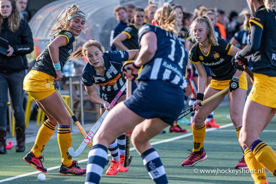 Hockey - HDM D1 v Den Bosch D1, Den Haag - 06-05-2021