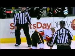 Fight – Iginla vs Eakin – 3-18-2013