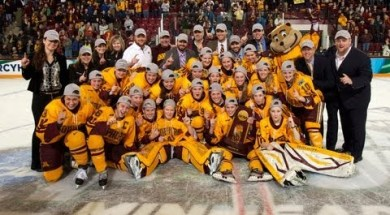 NCAA – Gophers Women's Hockey Season Highlights – 4-1-2013